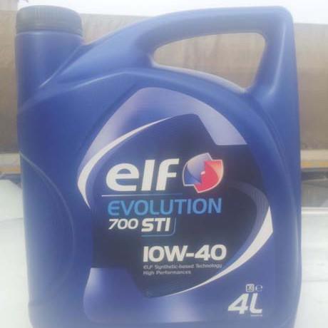 Скидка на моторное масло ELF