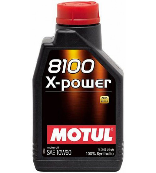MOTUL 8100 X-POWER 10W60 1L 106142