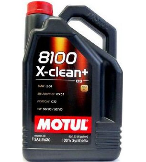 MOTUL 8100 X-clean Plus 5W30 5L 102269