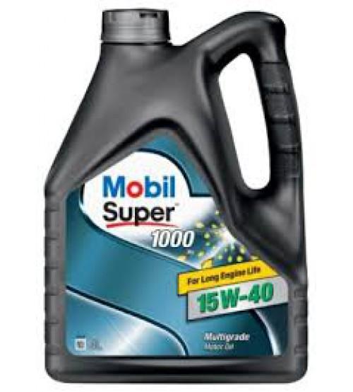 MOBIL Super 1000 X1 15W40 4L 152570