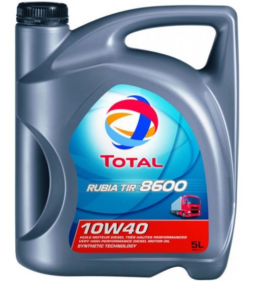 Total 8600 Rubia TIR 10W40 5L 148590